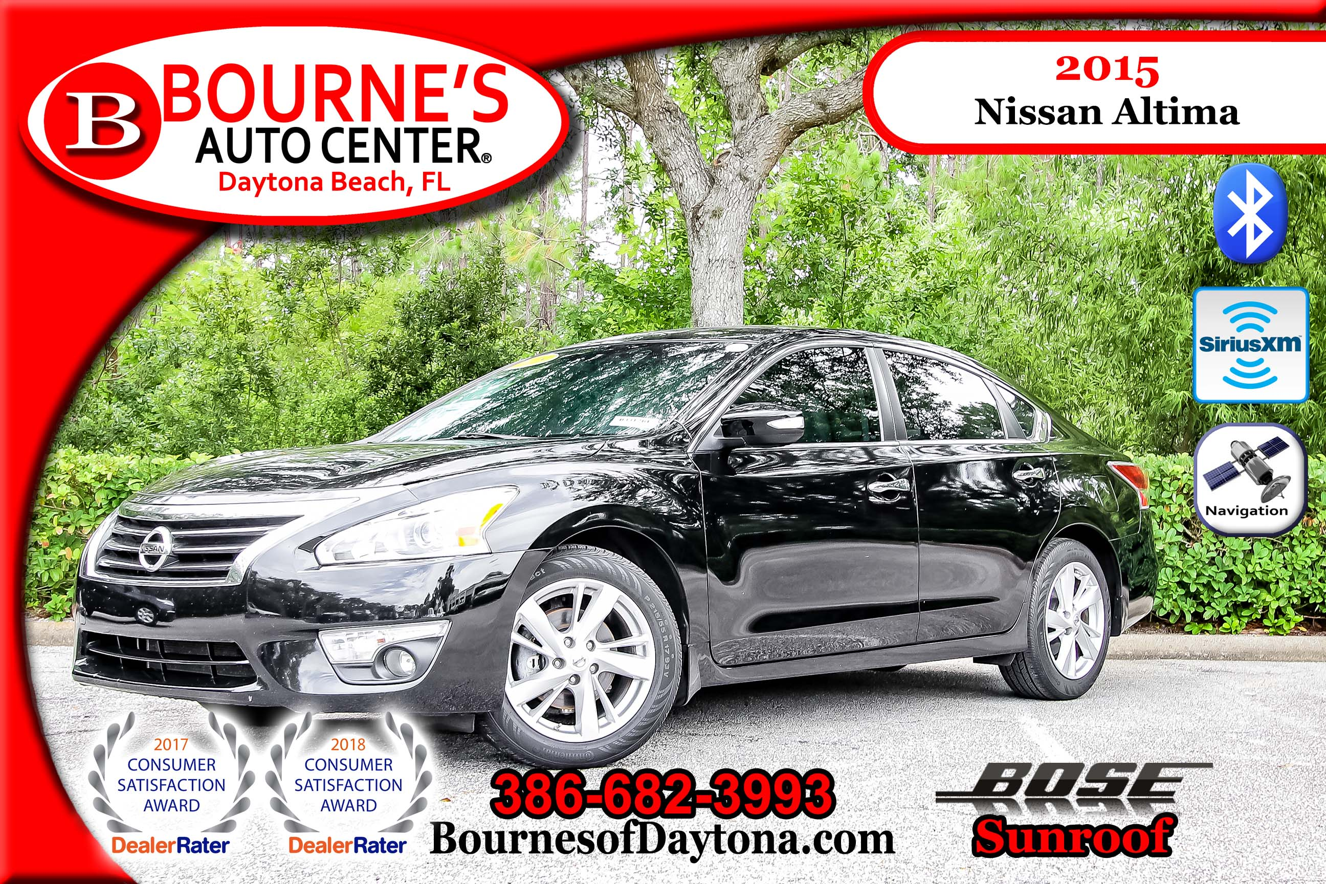 Used 2015 Nissan Altima SL For Sale