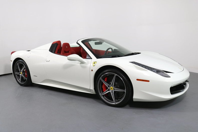 Used 2014 Ferrari 458 Spider San Francisco Ca Zff68nha2e0203445 Serving The Bay Area Mill Valley San Rafael Redwood City And Silicon Valley