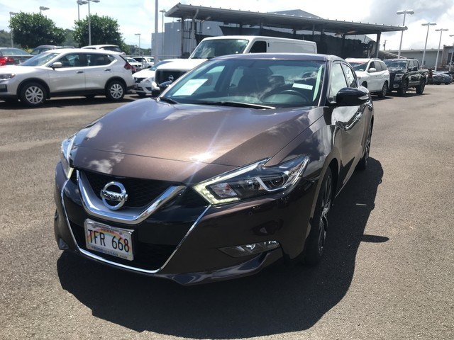 Certified Used 2016 Nissan Maxima 3.5 SR For Sale In Kaneohe U0026 Honolulu, HI  | VIN: 1N4AA6AP4GC436977