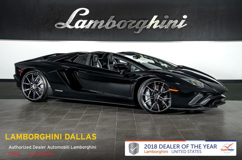new 2019 lamborghini aventador s for sale richardson, tx