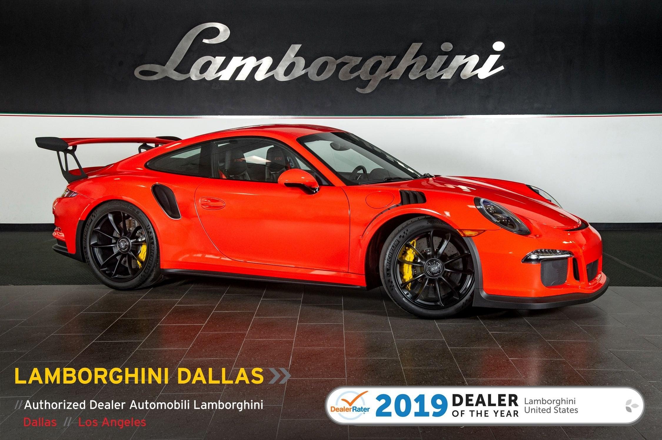 Used 2016 Porsche 911 Gt3 Rs For Sale Richardsontx Stock Lt1272 Vin Wp0af2a95gs193322