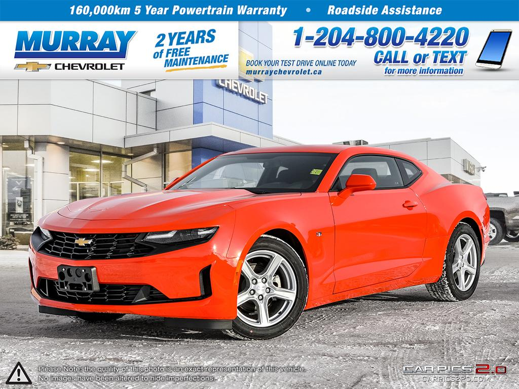 Check Out This 2019 Crush Chevrolet Camaro 1LT