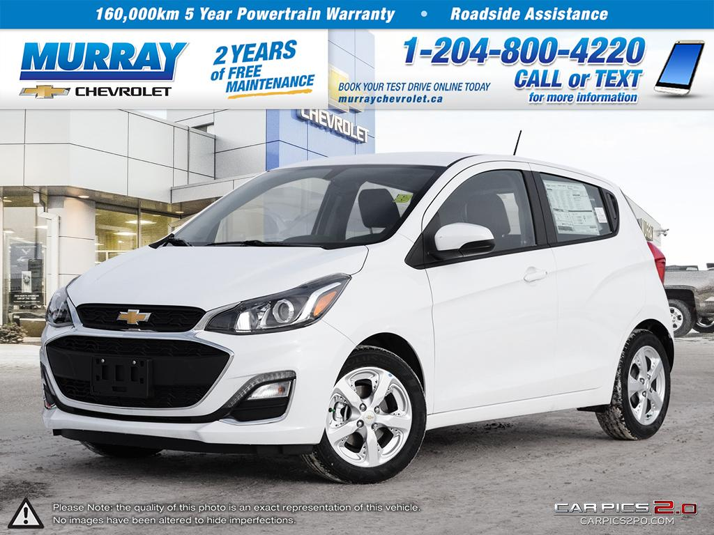 Check Out This 2019 Summit White Chevrolet Spark 1LT CVT