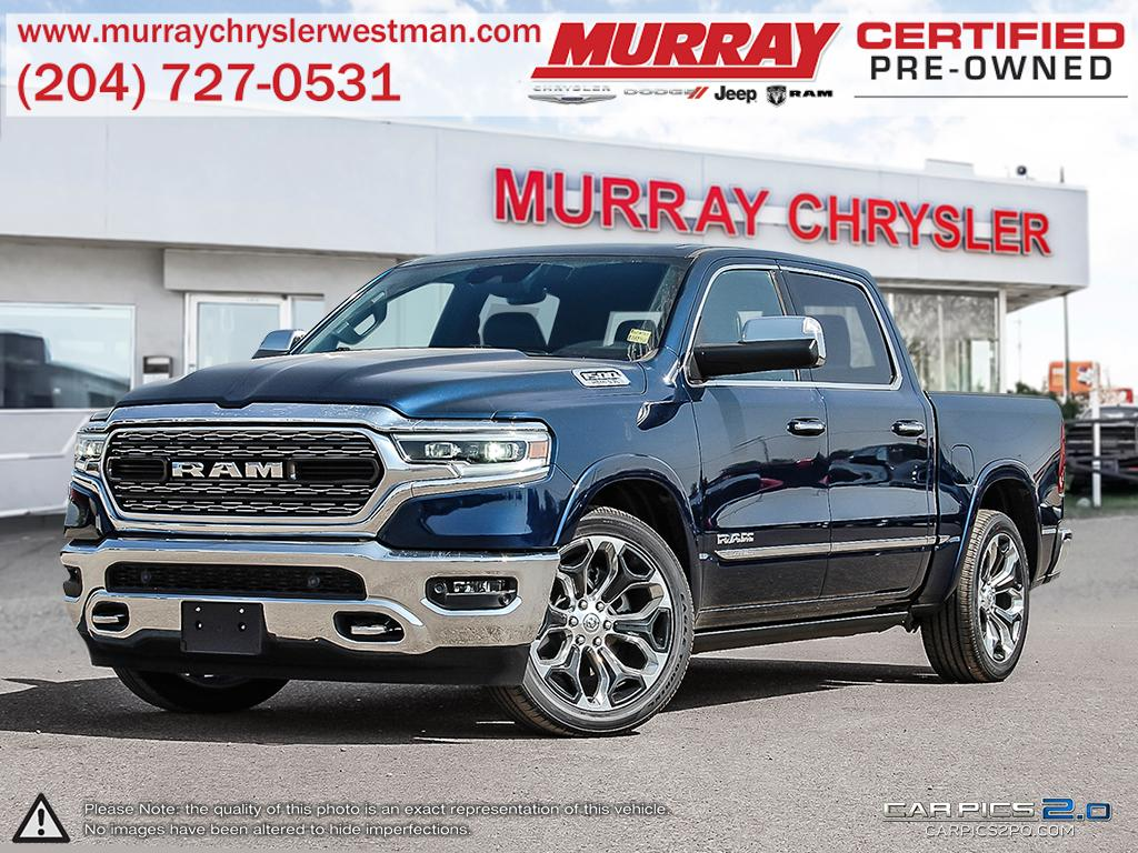 New 2019 Ram All-New 1500 Limited Patriot Blue Pearl