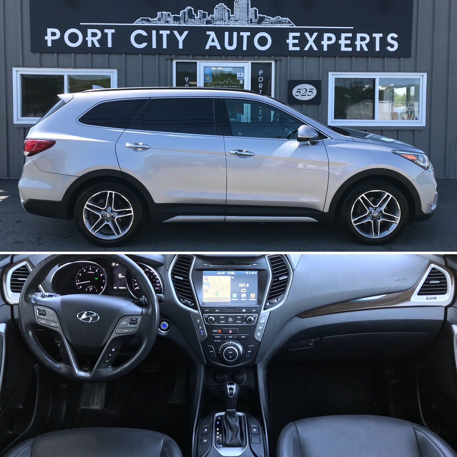 Used 2017 Hyundai Santa Fe Xl For Sale At Port City Auto Experts Vin Km8sndhf7hu187232