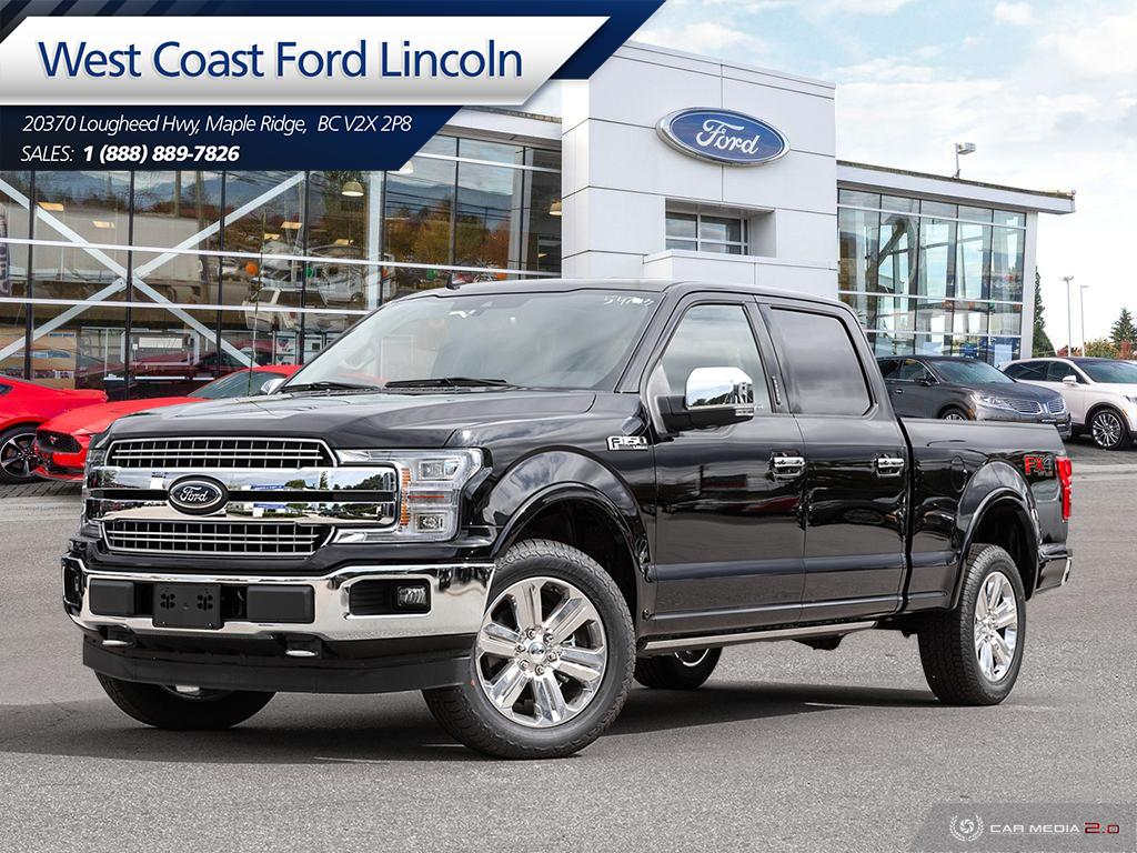 New 2019 Ford F-150 Lariat 4x4 SuperCrew 502A | Vancouver